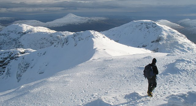 Summit ridge, Beinn Ime