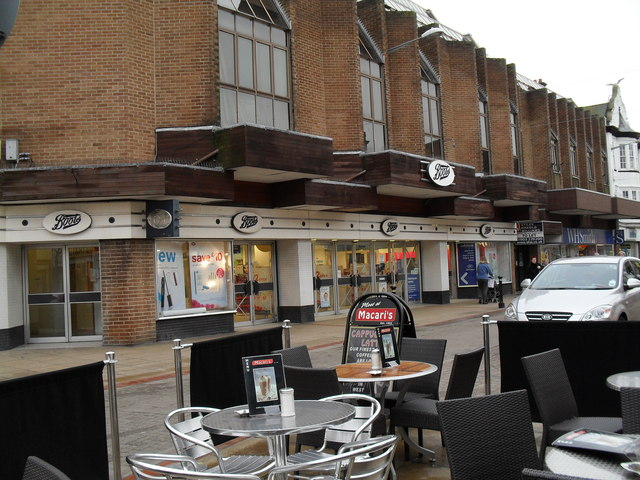 Not really the weather for al fresco dining in London Road