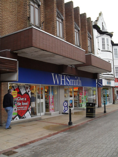 WH Smith in London Road