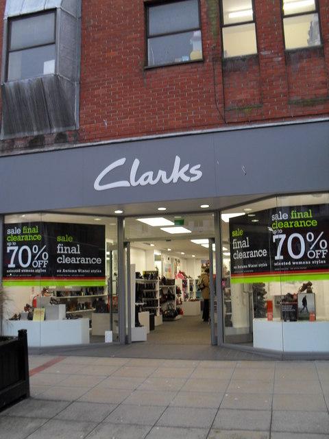 Clarks in London Road