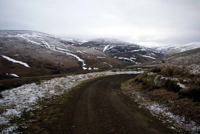 The track down to Duntercleugh