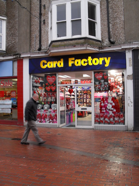 Card Factory in London Road
