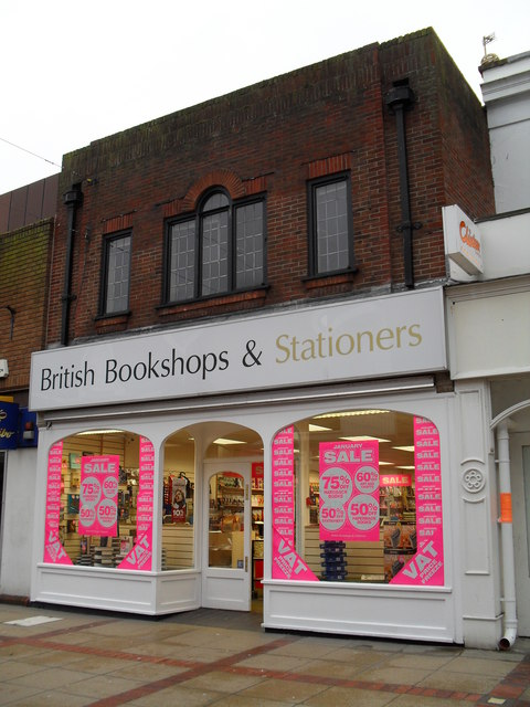 British Bookshops and Stationers