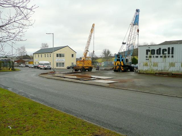 Ffrwdgrech Industrial Estate, Brecon