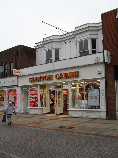 Clinton Cards in London Road