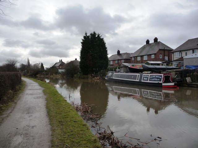 Erewash Canal, between Sandiacre and Dockholme Locks