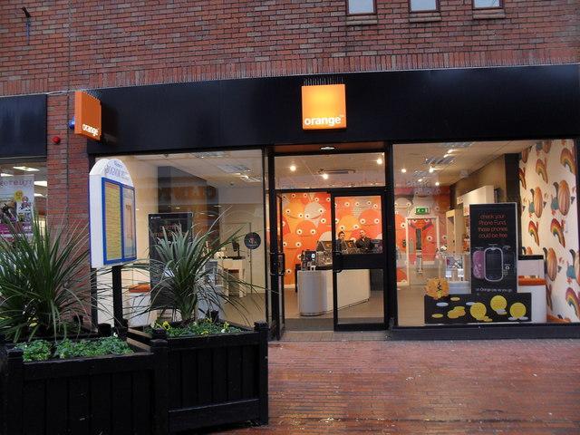 orange in London Road