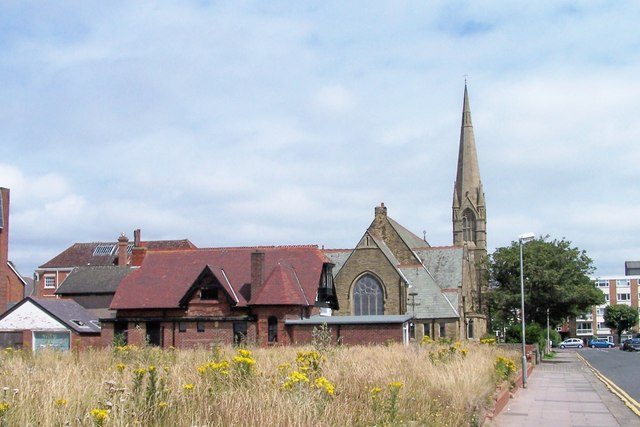 Former Lifeboat Station and the Drive Methodist Church, Eastbank Road, St Annes-on-Sea