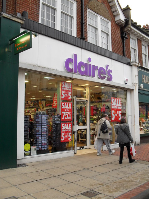 claire's in London Road