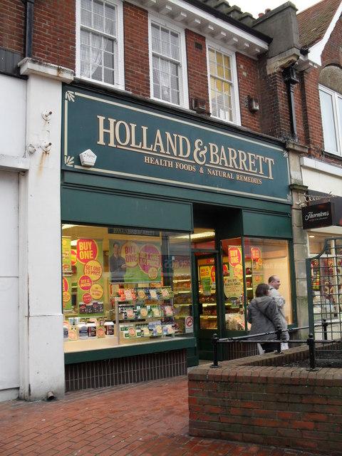 Holland & Barrett in London Road