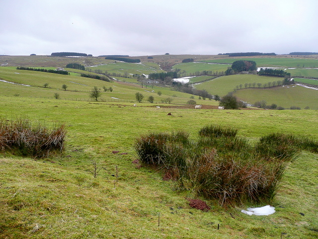 View towards Blaen Bwch