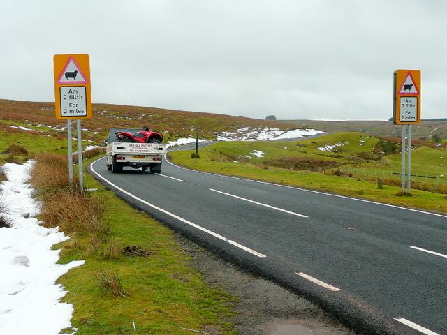 B4520 on the Mynydd Eppynt 2