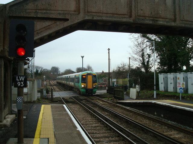 Railway line at Cooksbridge