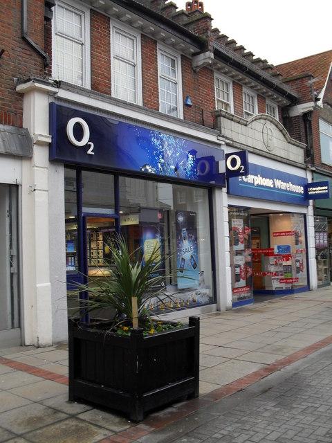 O2 in LOndon Road