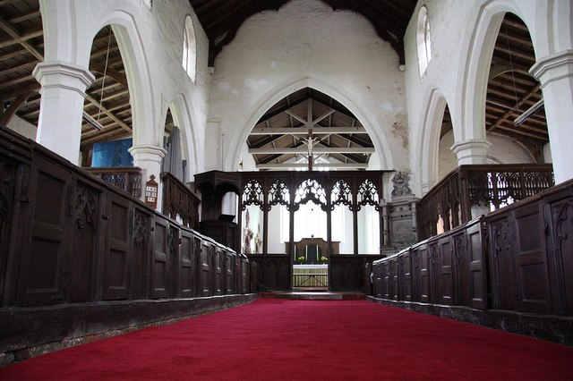 All Saints' nave