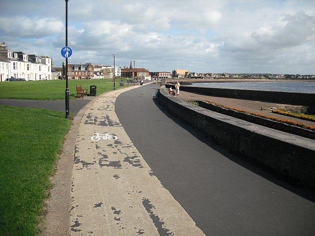 Cycle path, Troon