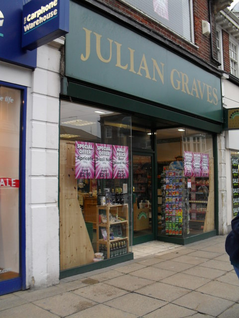 Julian Graves in London Road