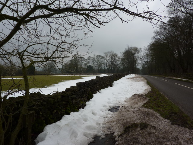 The road to Wormhill, at Hargatewall