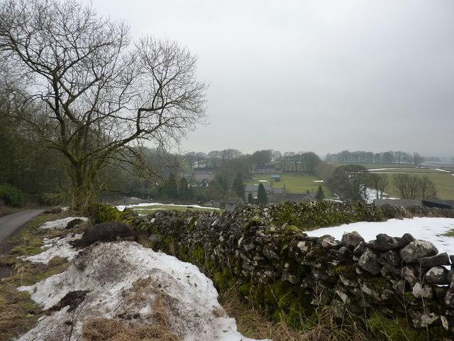 Hayward Farm and houses at Hargatewall