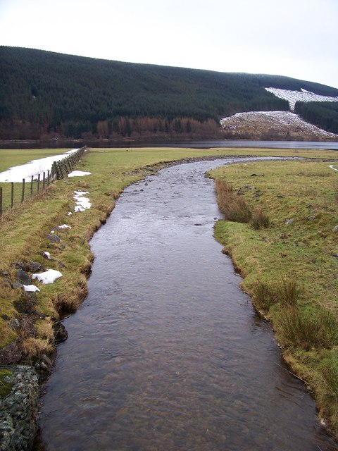 Kirkstead Burn - Downstream View