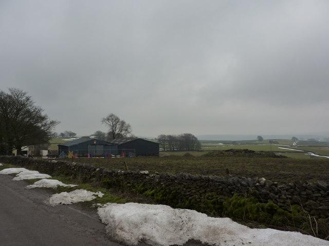 Barns at  Crossgate Farm, near Wheston