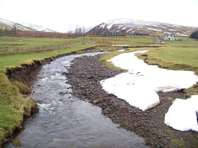 Kirkstead Burn - Upstream View