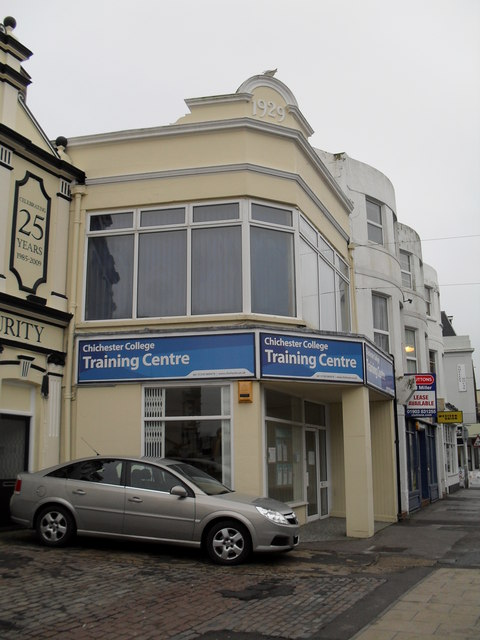 Chichester College Training Centre in the High Street