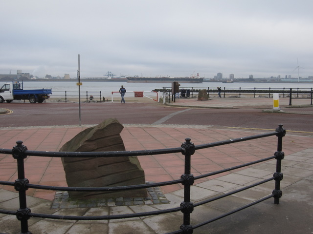 View across the Mersey from New Brighton