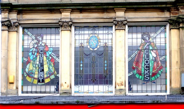 Stained glass windows, Northumberland Street