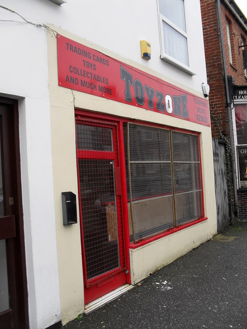 Toyzone in Sudley Road