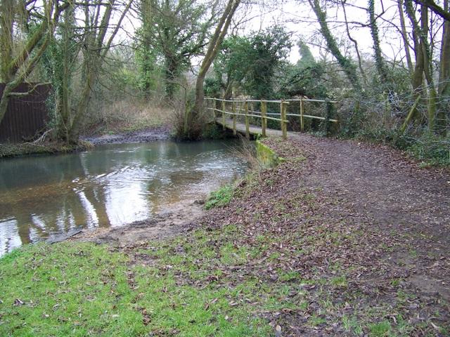 Footbridge near Lockerley