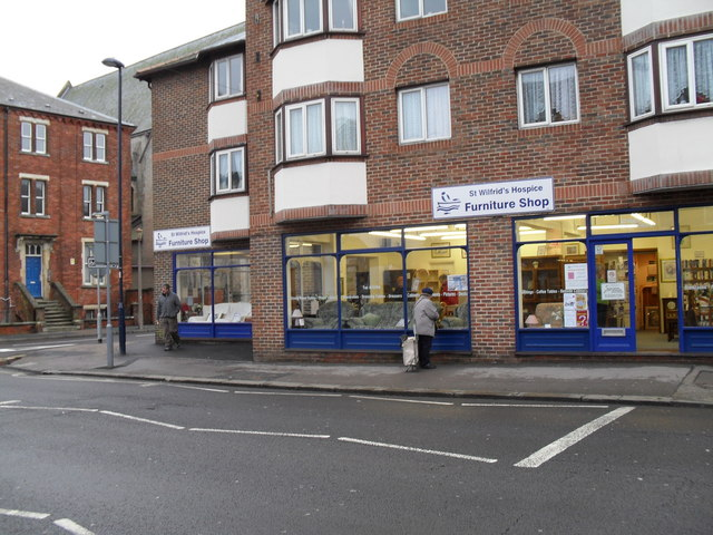 St Wilfrid's Hospice Furniture Shop in the High Street