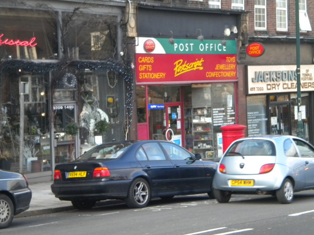 Post Office, Finchley Road NW11