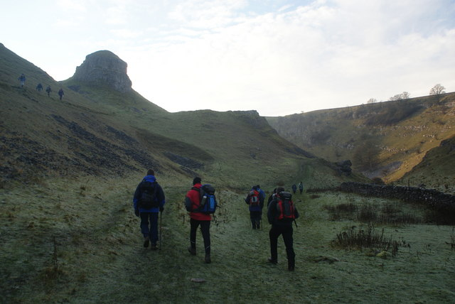 The beginning of Cressbrook Dale