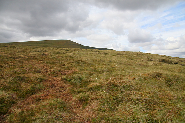 The slopes of A'Chailleach