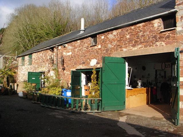 Craft workshops, Cockington