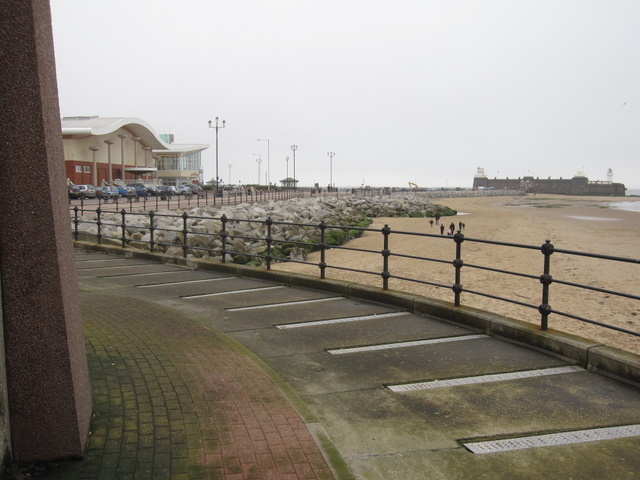Floral Pavilion and Fort Perch Rock