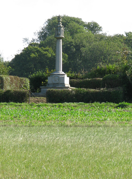 Memorial on the Sandwich Road, Knowlton