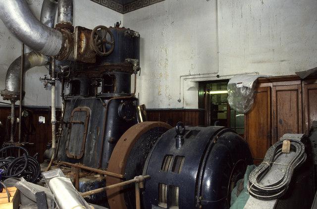 Belliss & Morcom steam engine, Royd Works, Beechcliffe