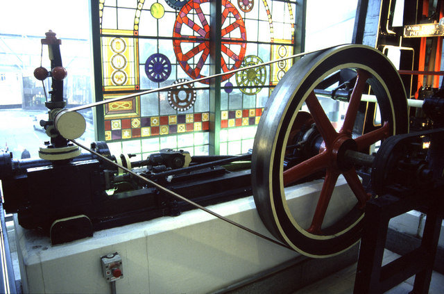 Steam engine, Wheatsheaf Shopping Centre