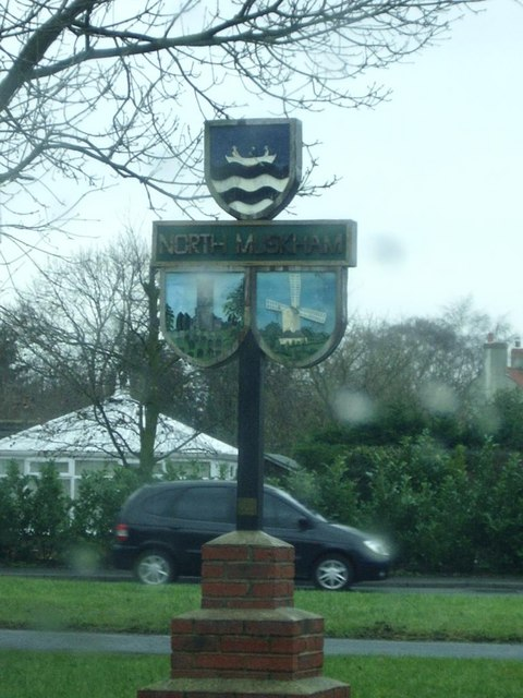Traditional Village sign, North Muskham