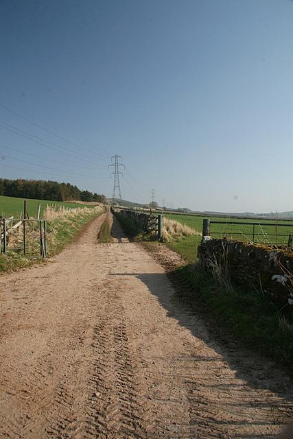 Farm track near Carsebank