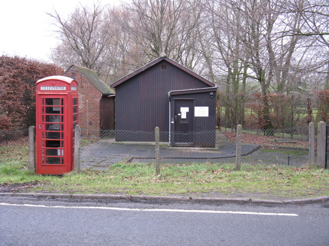 Warmingham - Telephone Box & Exchange