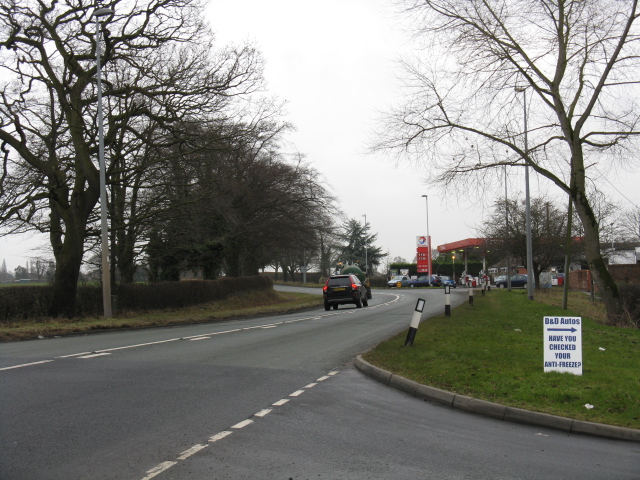 A533 At Dragon's Lane Junction