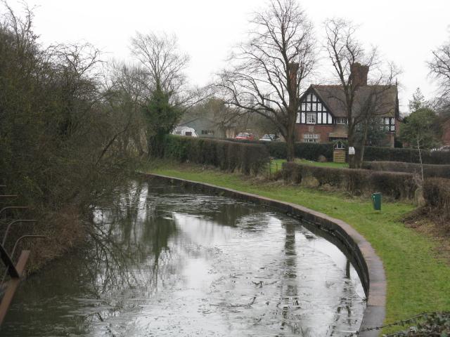 Trent & Mersey Canal At Tetton Bridge