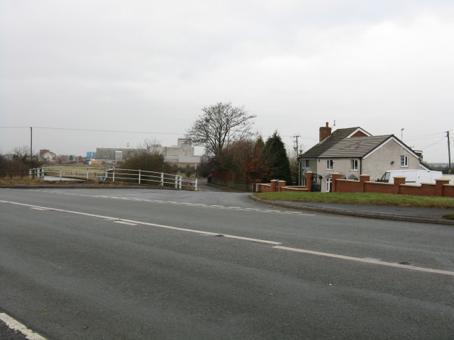 Tetton Lane From Tetton Bridge