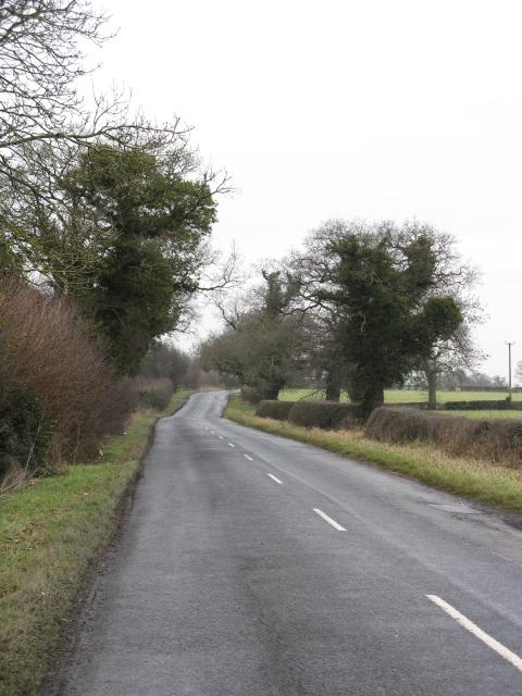 Warmingham Lane Near Home Farm