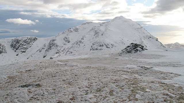 Summit of Beinn Chorranach