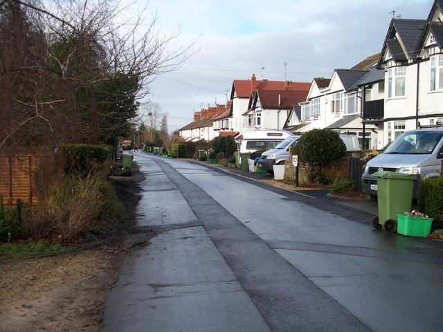 Shaw Green Lane, Prestbury