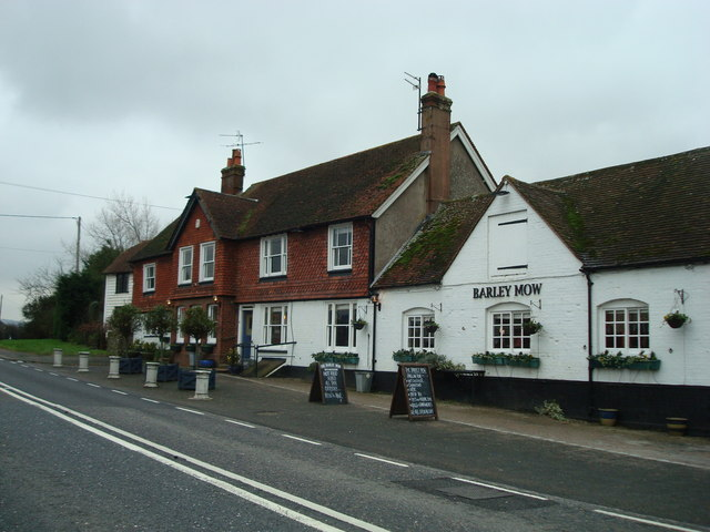 The Barley Mow public house, Selmeston